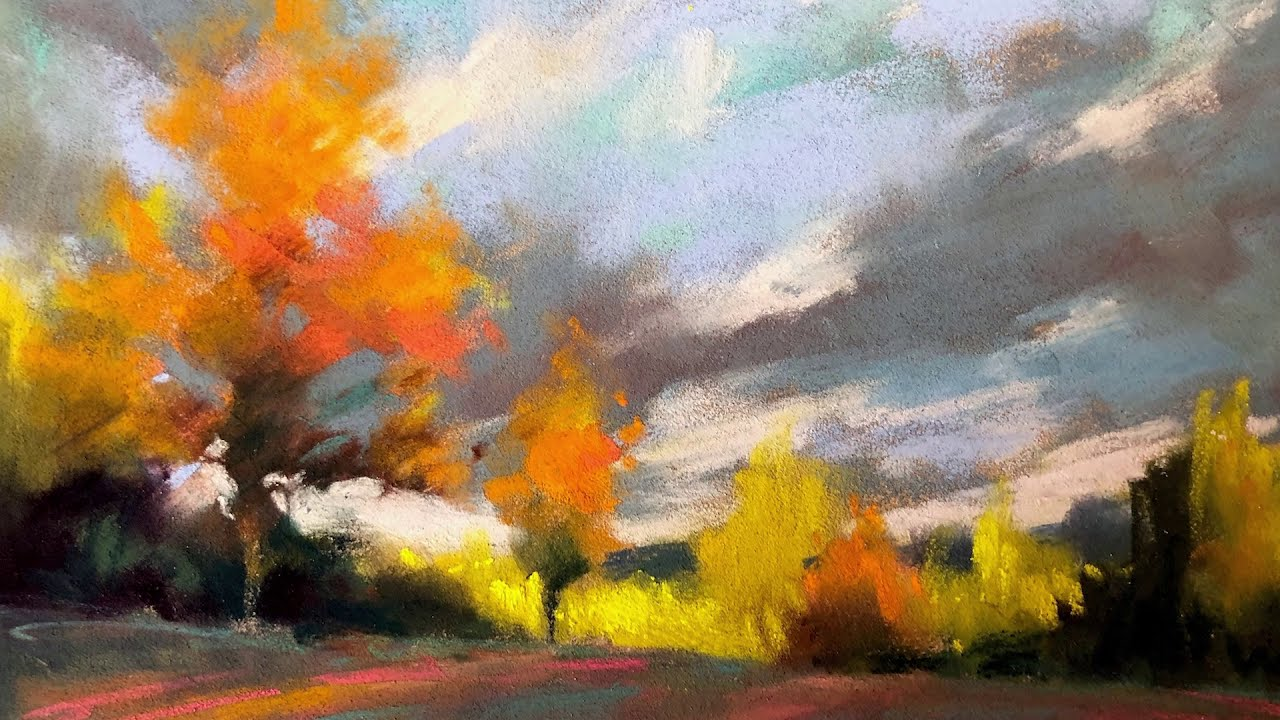 pastel painting tutorial by marla