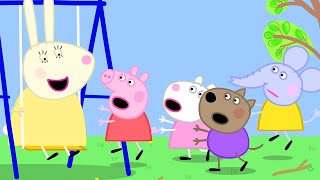 Peppa Pig Official Channel   Peppa Pig and her Friends at the Sandpit