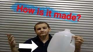 How is it made?? Gallon jugs blow mold educational tour!