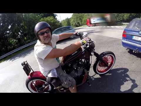 The Bulldog Riders/ Honda Shadow custom build Bobber/ Yamaha XJ600 Diversion S/