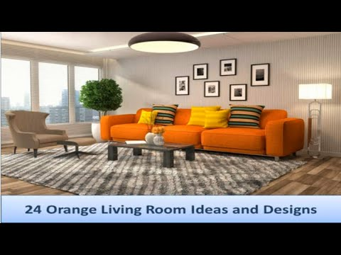 24 Orange Living Room Ideas And Designs Mp3