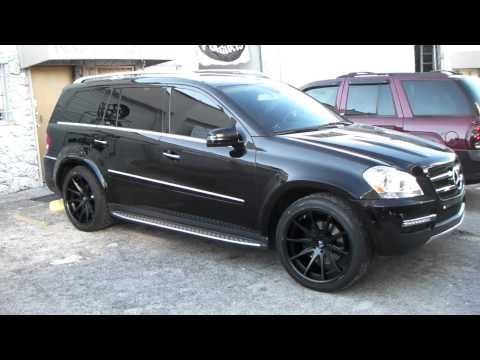 www.DUBSandTIRES.com 22 Inch Rohana RC-10 Wheels 2012 Mercedes GL450  Matte Black Concave Rims