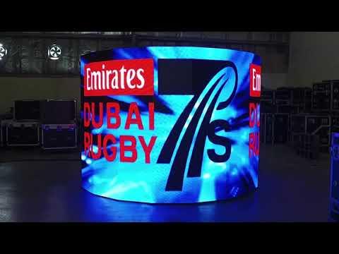 PS 2.9 Indoor Demo Curve Screen
