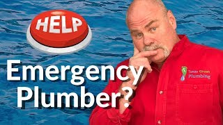 When You Should Call An Emergency Plumber | Plumbing Basics | The Expert Plumber