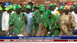 ADC Rallies Support For Akinbade Ahead Of Osun Guber Polls Pt.5 |Live Event|