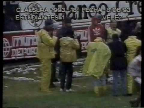 El gol de Chilavert de penal, que serviría para ser campeón después de 25 años de sequía para Vélez.