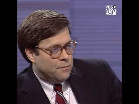 Attorney General William Barr in 1992: Barrier across entire southern border 'overkill'