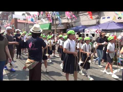 上野小学校鼓笛隊/下町七夕まつり2017