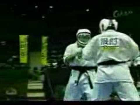 Daido juku MMA karate knockdown