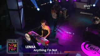03 Anything I`m Not   Lenka Live At New Pop Festival