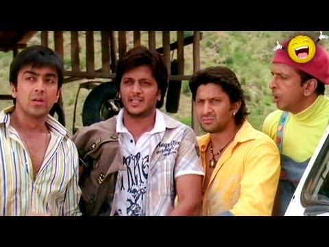 Dhamaal - Paasha bhai return from Dubai - Sanjay Dutt, Ritesh Deshmukh & Arshad Warsi (видео)