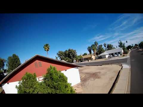 Mobula7 HD Brushless Whoop - 1st Flight FPV Outside Around My House
