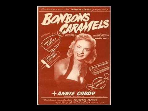 Annie Cordy - Bonbons, Caramels Et Chocolats (1953)