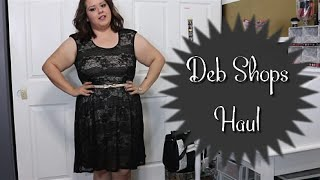 Deb Shops Try On Haul Plus Size