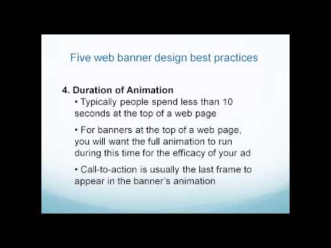 Jan 20, 2014 - Design Tips for Web Banners