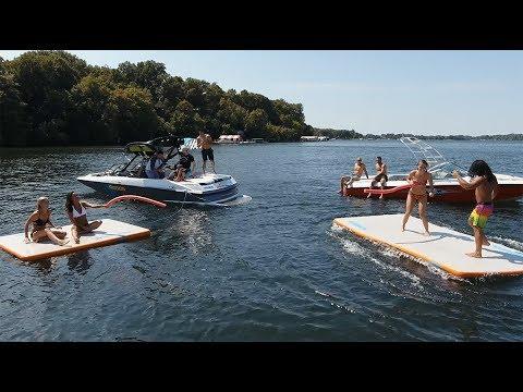 Water Mat :: REEF Inflatable Lake Mats
