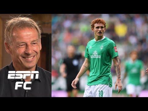 Jurgen Klinsmann explains why U.S. players have found success in the Bundesliga | ESPN FC