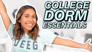 What To Pack For College 2020 | College Dorm Essentials