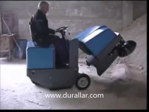 ISAL PB 120 Fabrika Tipi Zemin Süpürücü, Fabrika Süpürgesi