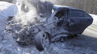 ЯНВАРСКОЕ МЕСИВО - Compilation of accidents January