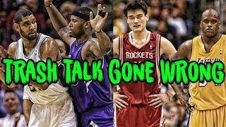 4 Times NBA Trash Talk COMPLETELY Backfired!