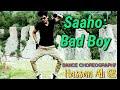 Saaho:- Bad Boy Dance video   Badshah   Neeti Mohan   Jacqueline   saaho movie songs, prabhas