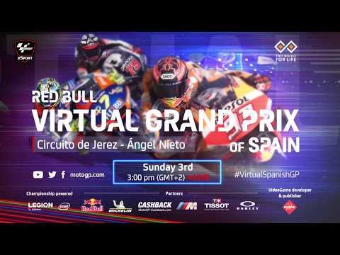 Esports MotoGP 第3戦(スペイン)レースライブ配信動画