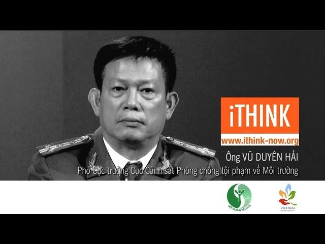 Vu Duyen Hai - Deputy Director of the National Environmental Police