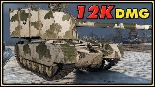 FV4005 Stage II - 12K Damage - 11 Kills - World of Tanks Gameplay
