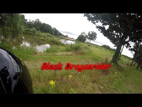 Black Dragonrider On road and off road Adventure 2pt