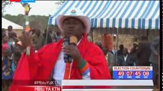 Baadhi ya viongozo wa Kajiado wadai Jubilee inadai kuiba kura
