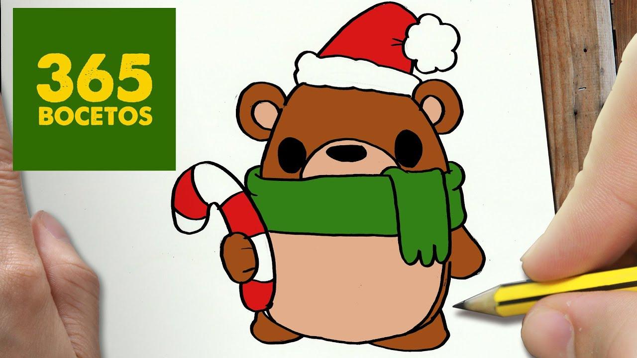 Navidad Kawaii 365 Bocetos Christmas Www Miifotos Com