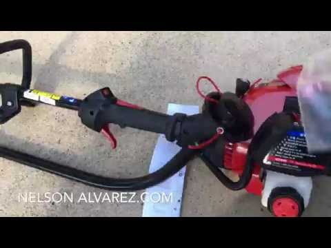 Comprando una cortadora de grama WeedWacker de gas