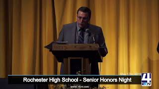 Rochester High School - Senior Honors Night - 5-17-19