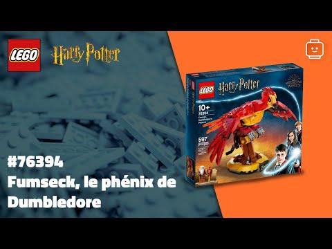 Vidéo LEGO Harry Potter 76394 : Fumseck, le phénix de Dumbledore