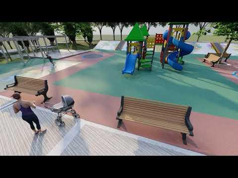 Budući izgled novog dječjeg igrališta u Zagoriču