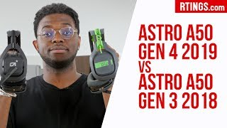Video: Astro A50 Gen 4 2019 vs A50 Gen 3 2017 Gaming Headphones Review