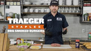 How to Grill Burgers   Traeger Staples