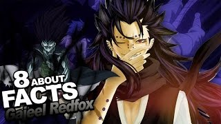 "8 Facts About Gajeel Redfox You Should Know!!! w/ ShinoBeenTrill & Stahtz ""Fairy Tail Anime"""