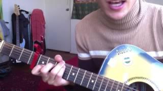 DMA's Delete Guitar Tutorial Tabs Chords