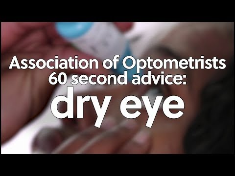 60 second advice: dry eye