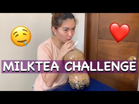 Download 1 GALLON MILKTEA CHALLENGE   DRINKING 5L OF MILK TEA WITHIN 24 HOURS HD Mp4 3GP Video and MP3
