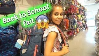 Joanas Back to School Shopping Fail - Vlog#1015 Rosislife