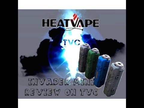 Боксмод Heatvape Invader Mini 50W (вариватт, темп. контроль) - видео 4
