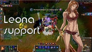 League Of Legends | Ranked DuoQ - Leona Support