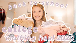 Back To School College Clothing Haul 2020 Ll Urban Outfitters, Forever 21, Free People, Adidas, Etc