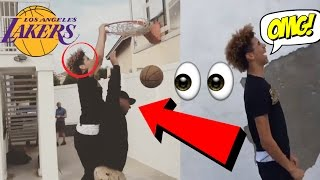 LaVar Ball Gets DUNKED On By His Son LaMelo Ball?! | BALL FAMILY FUNNY MOMENTS 2017