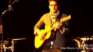John Mayer Live In Seoul   Free Fallin'