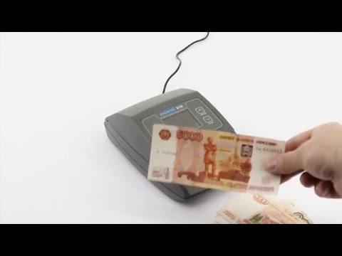 Видеообзор детектора валют Dors 210