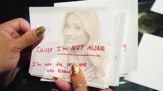 """I'm Not Alone"" Lyric Video"